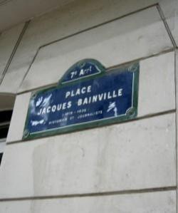 Voie, Rue, Allées Jacques Bainville en France....