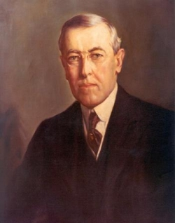 Sur Thomas Woodrow Wilson...