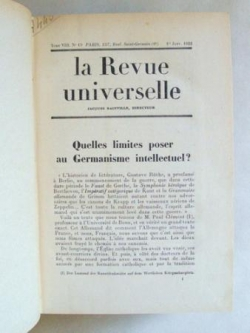 La Revue Universelle