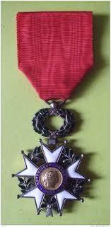 Chevalier de la Légion d'honneur...