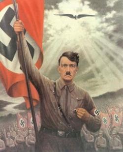 L'énergumène Hitler...