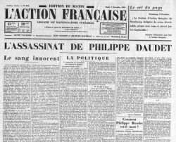 On vient d'assassiner Philippe Daudet...