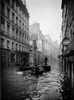 """Les """"formidables inondations"""" de 1910..."""