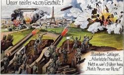 Les Berthas tirent sur Paris (I)