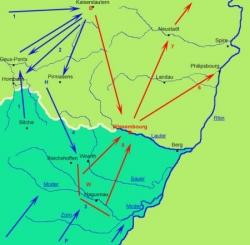 Massacre de Pirmasens, fin du séparatisme rhénan..