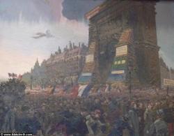 11 Novembre 1918 : le défilé de la victoire...