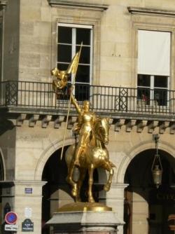 La fête de Jeanne d'Arc...
