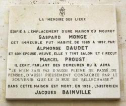 Les adresses des Daudet, avant Paris puis à Paris.