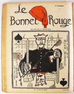 """Caillaux, Malvy, Vigo/Almereyda, """"Le Bonnet rouge"""""""
