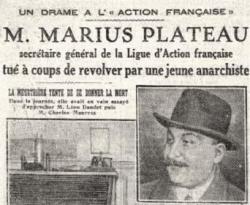 L'enterrement de Marius Plateau
