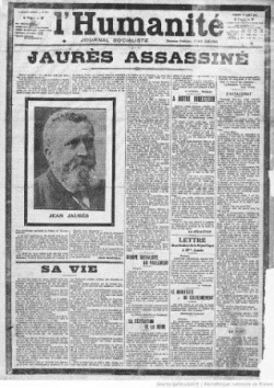 L'Assassinat de Jaurès...