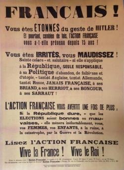 Affiche de propagande (II) : 1930