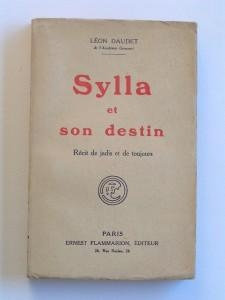 "1922 : ""Sylla et son destin"""