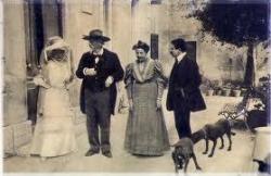 En 1906 : aux Saintes ?.....