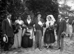 A la fête du félibrige, Aix, 1910