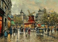 Un souper avec Léon Daudet, à Montmartre...