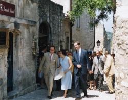 Visite en famille aux Baux de Provence