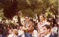 Le service d'ordre, dans les années 70
