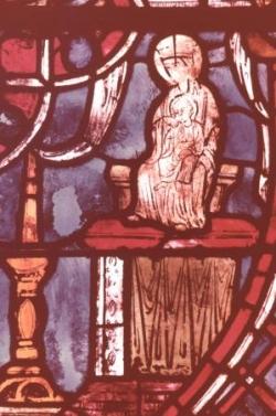 XIV: La Vierge (détail du précédent).