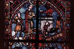 IX: Théophile mène la construction d'une église.