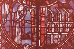 XVI: Théophile se rend dans une église.