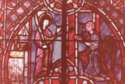 XVII: Première apparition de la Vierge à Théophile