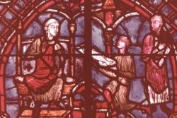 XI: Théophile reçoit des offrandes.