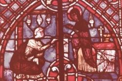 XVIII: La Vierge rend le pacte à Théophile....