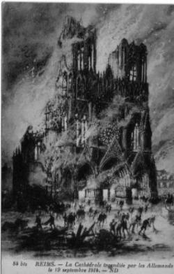 1914, le martyre d'une cathédrale (VIII/IX)...