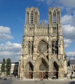 Reims, cathédrale du Sacre...