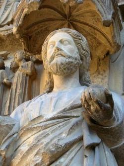 """Le """"beau XIIIème siècle"""" (II) : le beau Dieu....."""