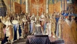 Reportage d'époque : le sacre de Louis XIV...