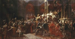 Sacre de Charles X...