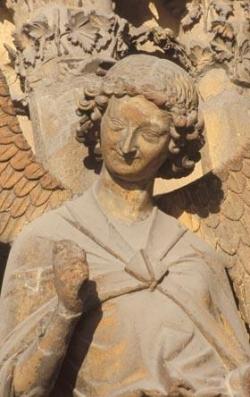 """Le """"beau XIIIème siècle"""" (I) : L'ange au sourire.."""