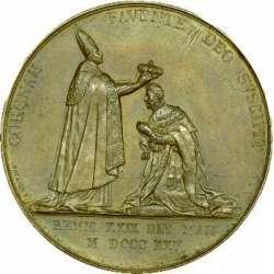 Médaille du sacre de Charles X : revers....