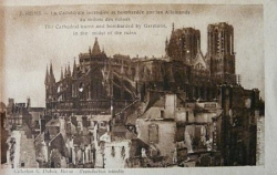 1914, le martyre d'une cathédrale (V/IX)...