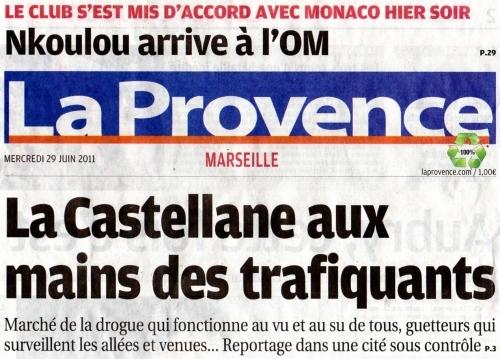 Une cit sous contr le ou les mafias se sont bien implant es et - Le journal de la provence ...