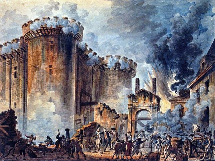 22 avril 1370: Pose de la première pierre de la forteresse de la Bastille. 1488983108
