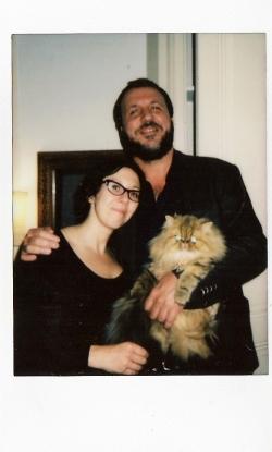 Cédric Rassat et Annalisa (Et Mitchum !)