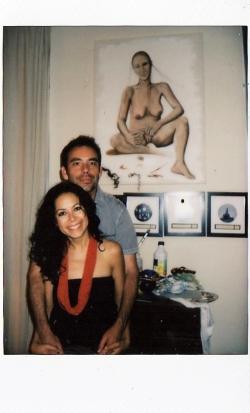 Anabel Serna et Laurent Bouisset.