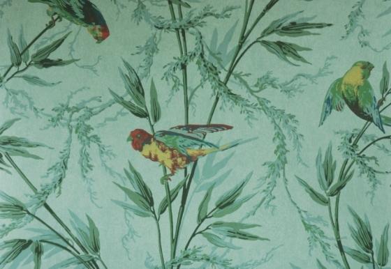 deux papiers peints avec des perroquets un papier peint de la guerre de 14 un papier peint. Black Bedroom Furniture Sets. Home Design Ideas