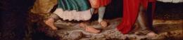 Bande 2 Les pieds - premiers disciples Retable de Montbéliard.jpg