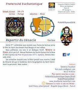 #jubilépjeymard2018,chapellecorpuschristiparis8,manuel barbiero,eucharistie,adoration eucharistique,adoration,la france,st pierre-julien eymard,foi,christianisme,transmission,sacré cœur,Écologie humaine,vulnérabilité