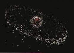 i/ Les débris spatiaux qui ne cessent d'augmenter.