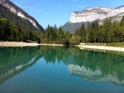 Haute-savoie, lac de thuy