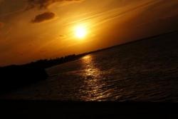 Ile de Ré, coucher de soleil