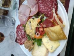 Assiette du montagnard Château Queyras