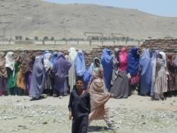 Afghanistan, distribution ONG