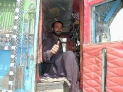Afghanistan, conducteur de camion