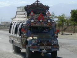 Afghanistan, transport en commun